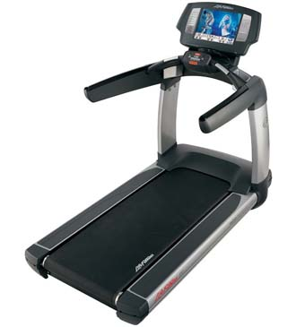 Entertainment and motivation with the Life Fitness 95T