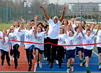 Life Fitness support for Fitter Schools Challenge