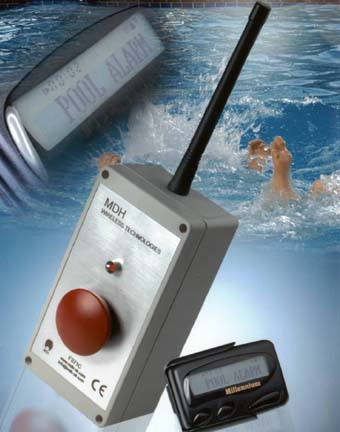 New pool alarm system from MDH