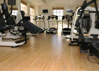 Omnisports floored in hotel gym