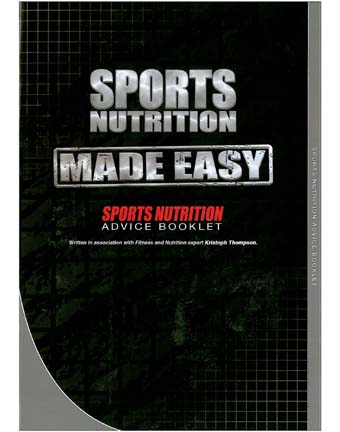 Sports nutrition by the book