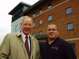 Micron comms for Banbury's new hotel