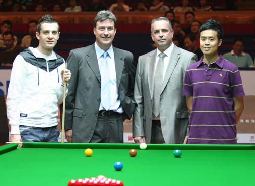 World Snooker extends Milliken cloth supply agreement