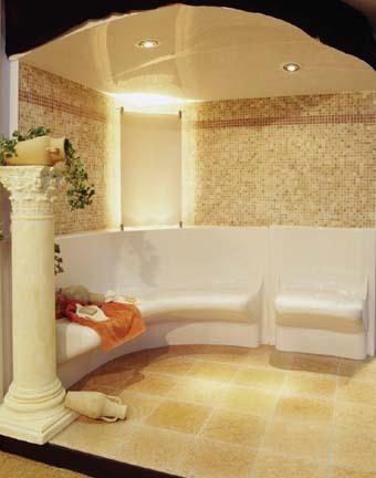 Nordic steam room luxury