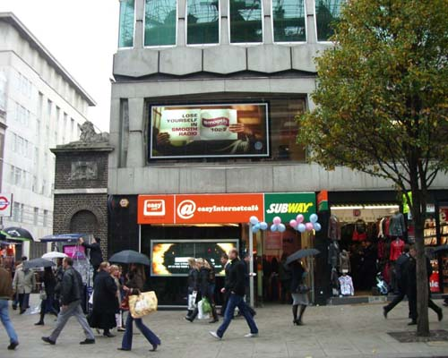 Digital advertising comes to Oxford Street