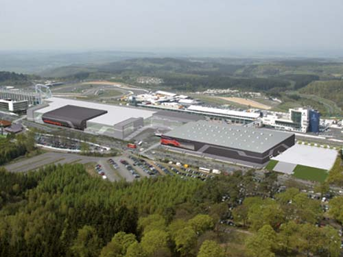 Chequered flag for payment system at Nürburgring