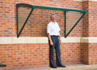 New range of smoking shelters from QMP