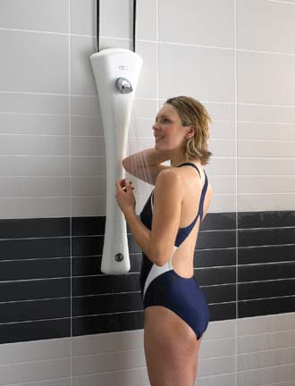 Stylish showering from Sirrus