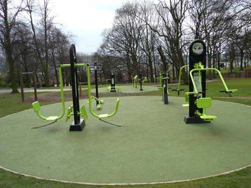 Gyms for the great outdoors