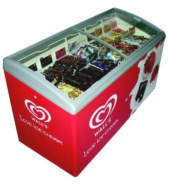 Increased sales from branded freezers