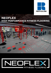 Rephouse: Neoflex® High Performance Fitness Flooring has set the bench mark for flooring in the fitness industry since 1985. Rephouse manufactures and supplies a complete range of fitness flooring products for cardio & strength areas, agility & functional areas, free-weight areas and sprint tracks.