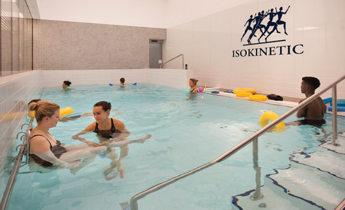 Isokinetic centre