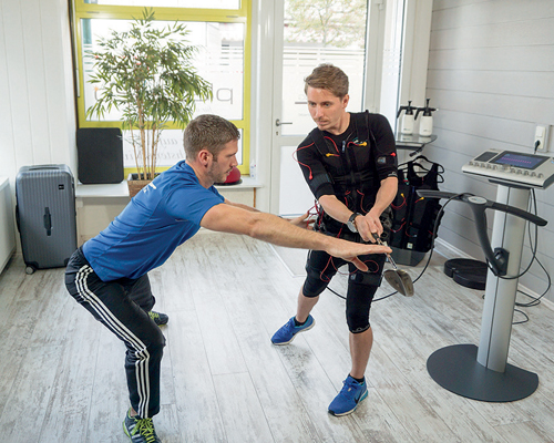 Promotional Feature: Thomas Ott outlines the use of EMS training for professional athletes