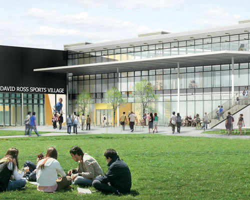 University sport: New sports facility developments
