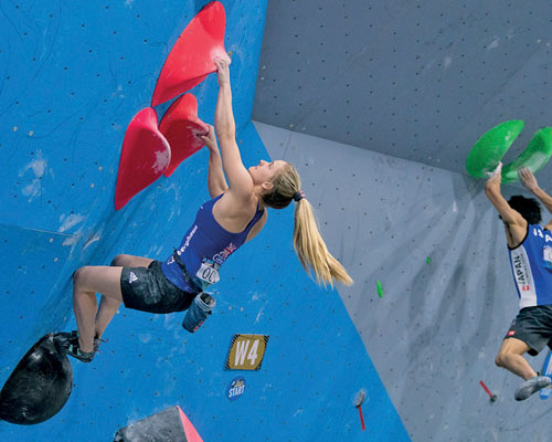 Olympics: Climbing hits the mainstream