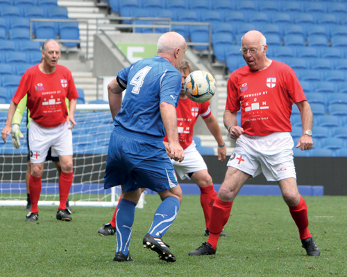 Walk the walk: Walking football is rapidly growing in popularity