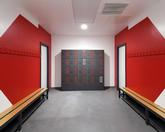 Garran Lockers completes installation at USW's new sports park