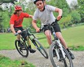 Getting kids pumped about mountain biking