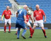 Walking football is rapidly growing in popularity