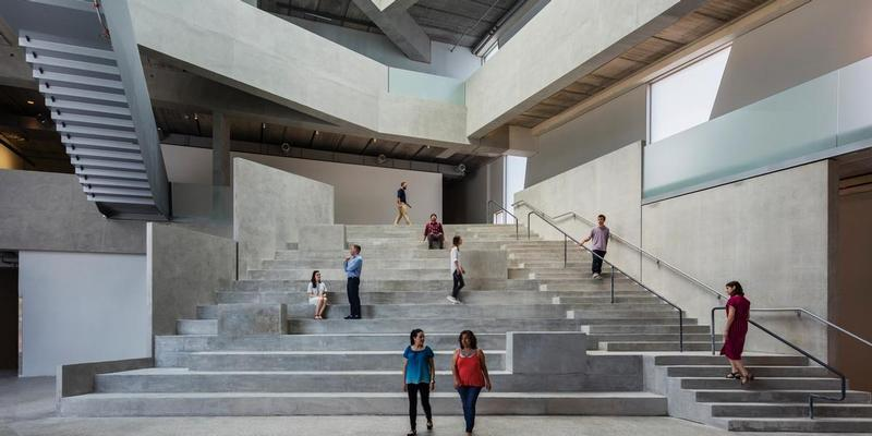steven holl completes glassell school of art at the museum of fine