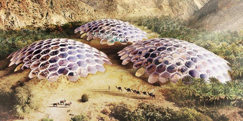 Baharash Architecture Design Biodome Ecotourist Attraction