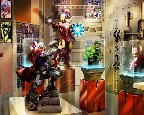 Marvel is a major IP at Dubai's IMG Worlds of Adventure, opening 15 August