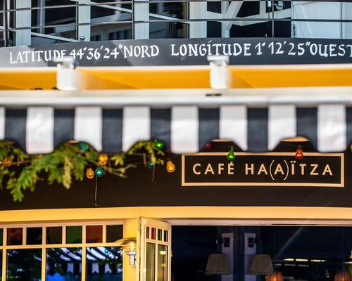 The cafe is already open and Hotel Haïtza will open in June 2016 / Philippe Starck