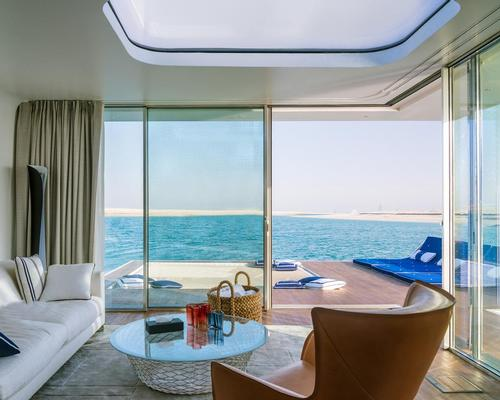 The villas will be located in the Heart of Europe development, part of man-made islands that make up Dubai's The World development / Kleindienst Group