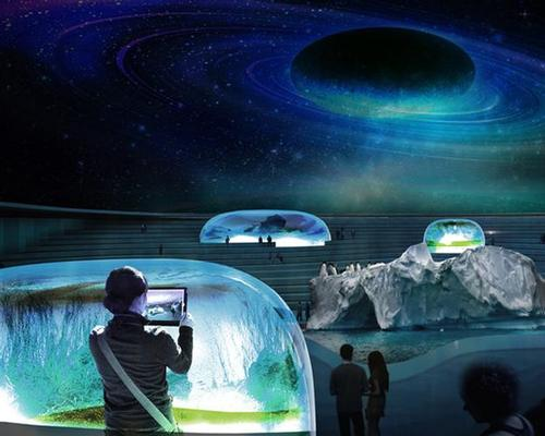 A retractable roof could cover the site, creating a planetarium / Arch Out Loud/Lissoni Associati
