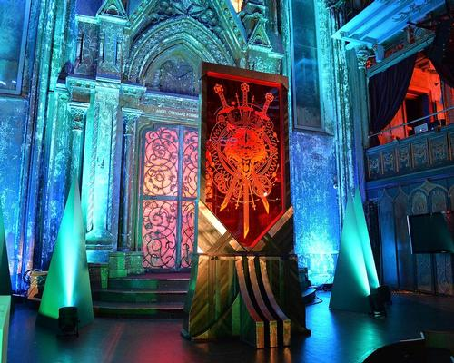 The view of atmosphere at HBO's Art the Throne: Immersive Art Experience at The Angel Orensanz Foundation / Getty Images for HBO