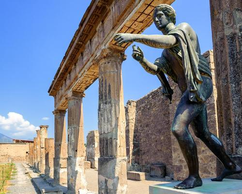 Pompeii will receive a €40m investment as part of the package, which will go on essential maintenance of the Roman-era walls and mosaics, which are falling apart and disintegrating.  / Shutterstock.com