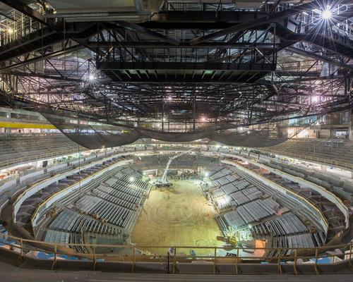 The construction of the arena is nearing completion / Rogers Place