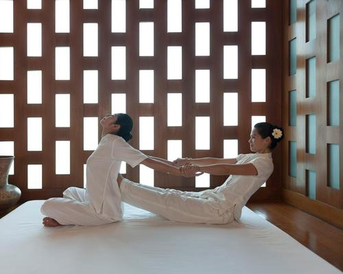 The Spa at Mandarin Oriental Doha has been planned and designed with a scheme that connects the Oriental heritage of Mandarin Oriental with a sense of place in the Qatari development