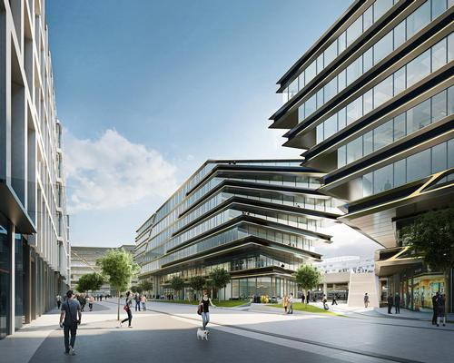 Zaha Hadid Architects plan to add several new civic spaces to Prague's outer districts / Zaha Hadid Architects