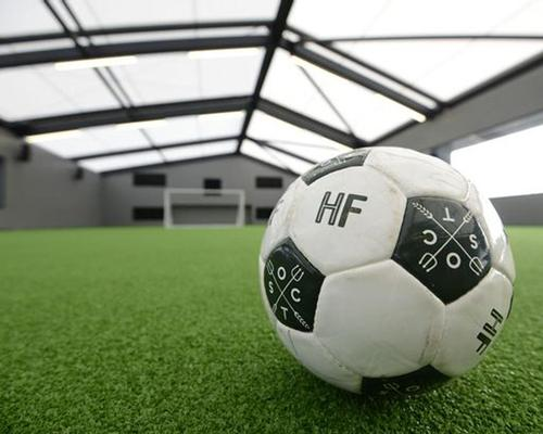 Thornton Sports installed the 12th floor pitch in Manchester's Hotel Football