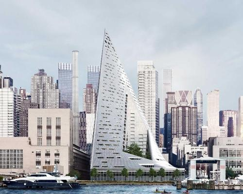 Bjarke Ingels Group are nominated for the VIA at West 57 development in New York / The Durst Organization/VIA at West 57