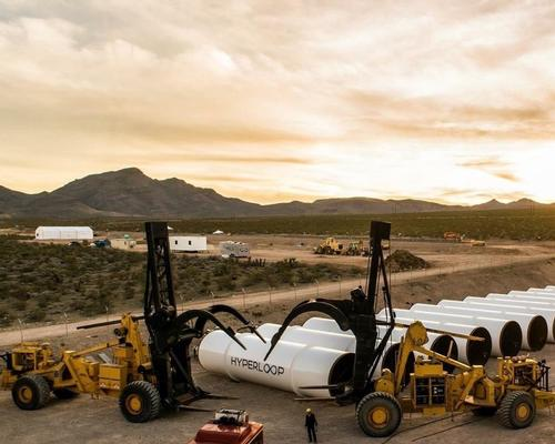 Hyperloop One is racing to be the first company to realise the Hyperloop concept proposed by entrepreneur Elon Musk / Hyperloop One