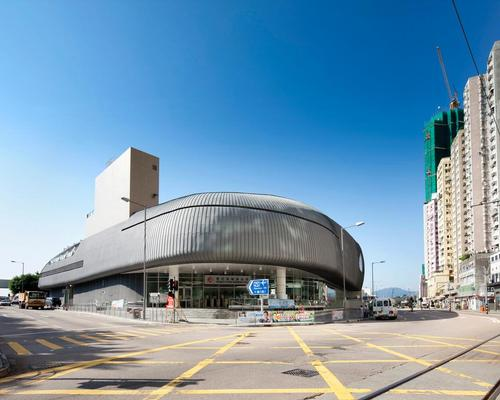 The Kennedy Town Swimming Pool has won the NEC's award for Large Project of the Year 2016 – which recognises excellence in project delivery and good practice / Farrells