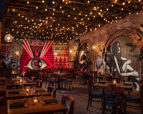 David Rockwell and street artist Hush bring urban art indoors for New York restaurant VANDAL
