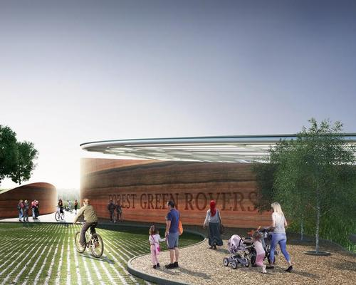 Design by AFL Architects / Courtesy of Forest Green Rovers