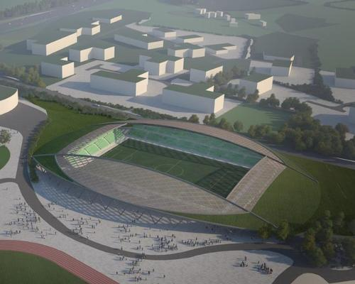 Design by Glenn Howells Architects / Courtesy of Forest Green Rovers