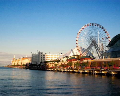 Navy Pier receives eight million visitors annually / David Bjorgen