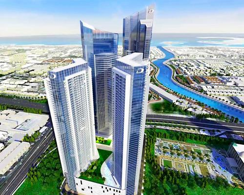 Aykon City will have four towers, two of which will house luxury hotels / DAMAC