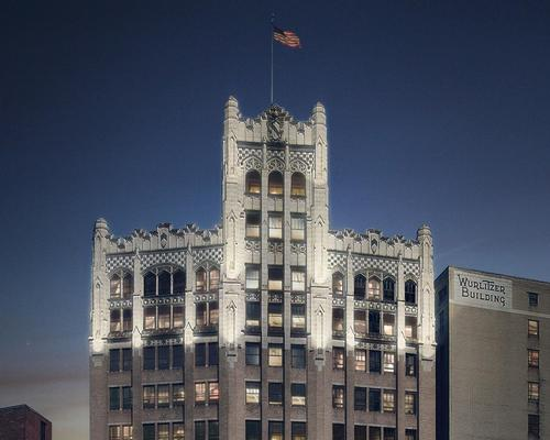 The 14-storey Metropolitan Building is a neo-gothic icon designed by local firm Weston and Ellington in 1925 / Starwood
