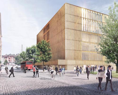 Construction on the Nobel Center is scheduled for 2017 / David Chipperfield Architects