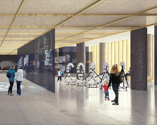 German design firm Atelier Brückner are developing the museum's exhibitions / David Chipperfield Architects