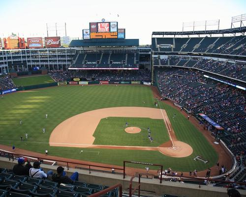 Globe Life Park has been home to Texas Rangers since 1994 / Ffooter/Shutterstock.com