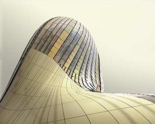 The shimmering gold colour of the building is inspired by the local stone found in Bordeaux / Paul Desmazieres