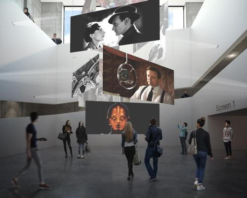 An artist's impression of one of the centre's planned exhibitions / BFI