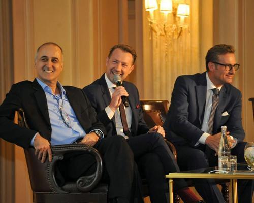 Ingo Schweder, Roger Allen and Franz Linser discuss the future of wellness / Faust Favart